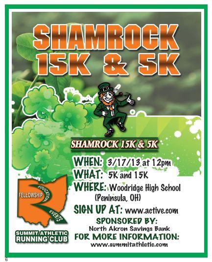 Shamrock email blast 2013