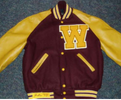 Walsh Jesuit Letterman Jacket