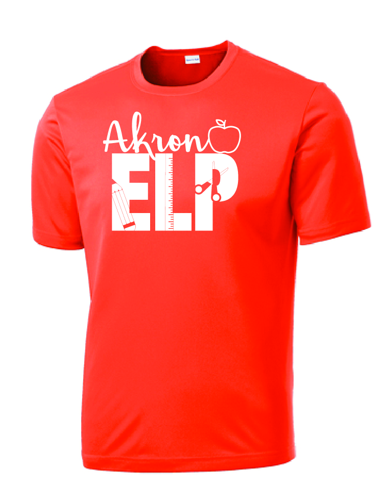 Dri fit t shirt w one color logo elp ritchie 39 s for One color t shirt