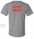 back kent soccer t shirt