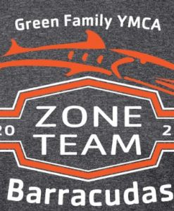 2020 Barracudas Zone Team