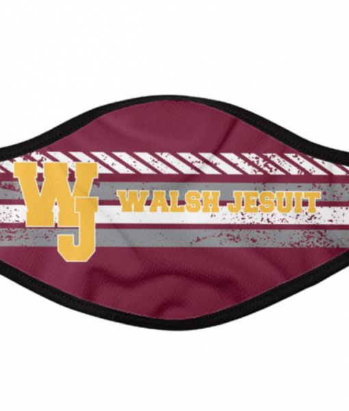 Walsh Jesuit face cover