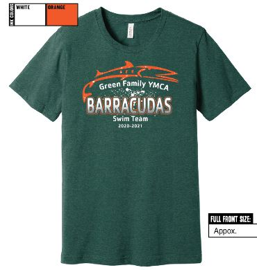 2020 barracudas t-shirt